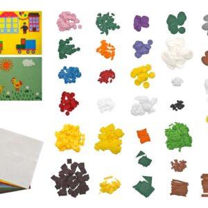 """Zestaw kształtów filcowych do """"Kreatywnego modelowania"""""""